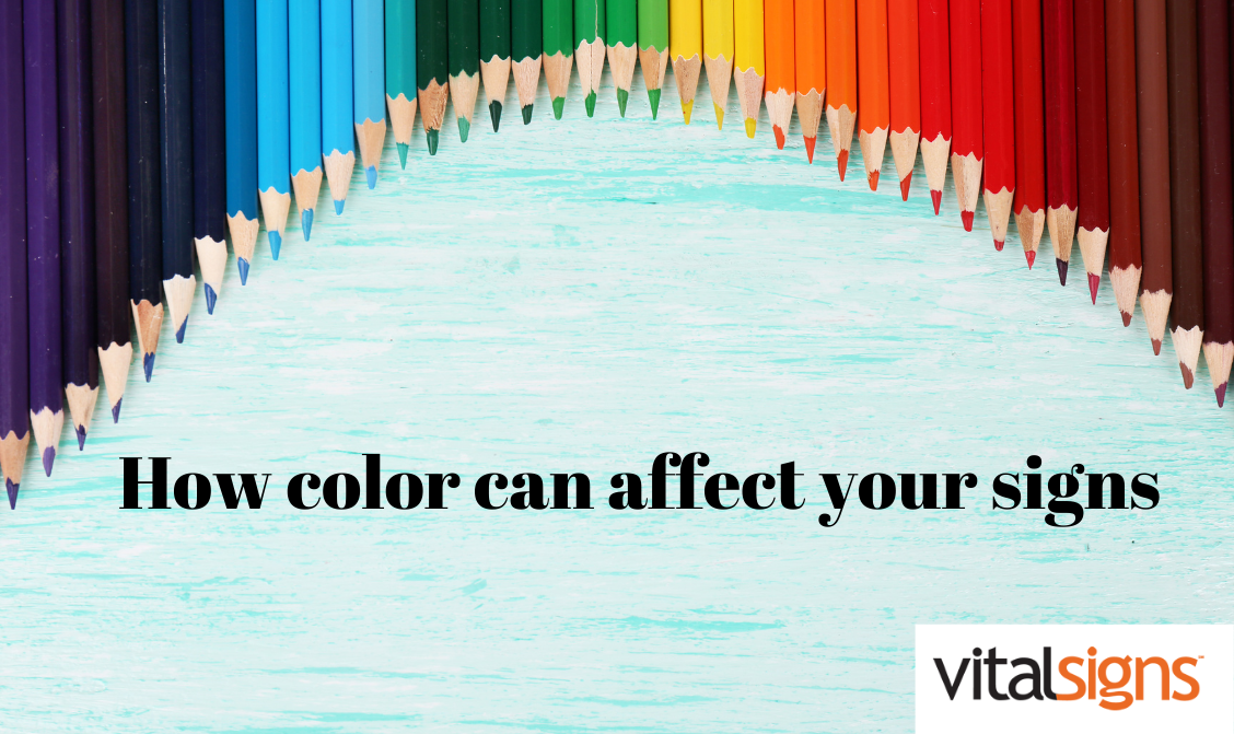 How color can affect your signs